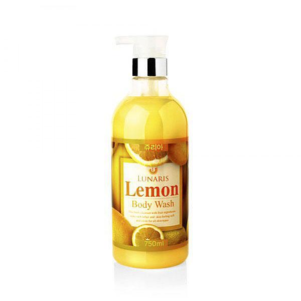Lunaris Гель для душа с ароматом лимона 750 мл