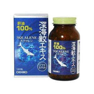 ORIHIRO Сквален масло печени акулы  № 180