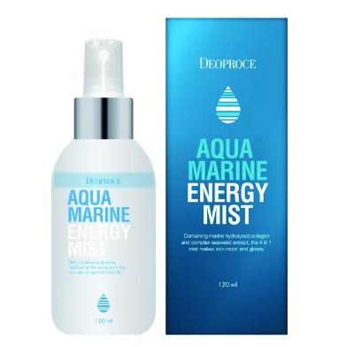 Спрей для лица с морской водой DEOPROCE MIST AQUA MIRINE ENERGY 110 мл