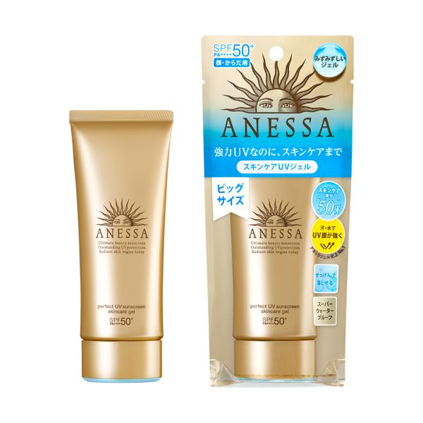 Anessa Perfect UV Sunscreen Skincare Gel SPF 50+ PA++++ Солнцезащитный водостойкий гель санскрин 90 г