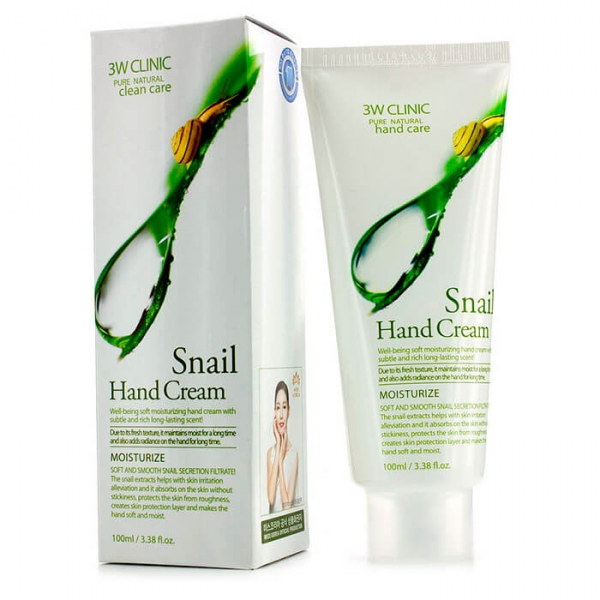 Крем для рук 3W Clinic Snail Hand Cream