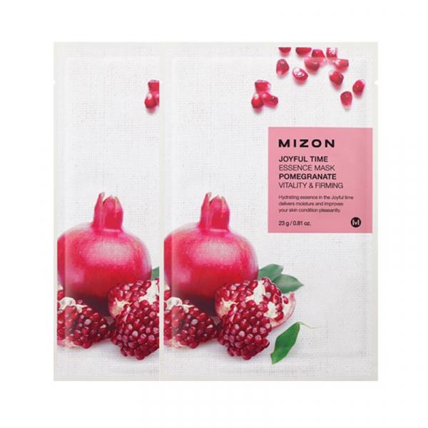 Тканевая маска для лица с экстрактом гранатового сока MIZON Joyful Time Essence Mask Pomegranate 23 г