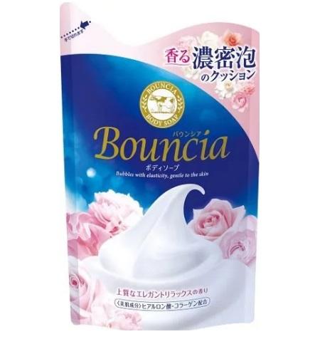 Сливочное жидкое мыло COW Bouncia для рук и тела с элегантным ароматом роскошного белого мыла 430 мл /16