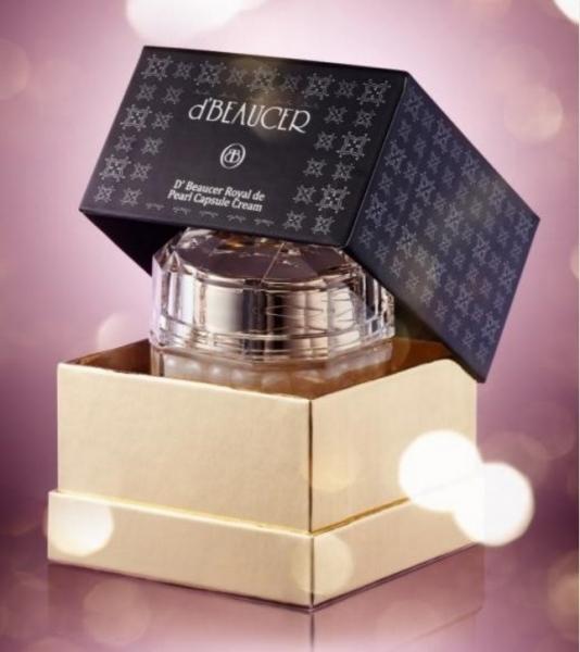 D'BEAUCER Royal de Caviar Capsule Cream Омолаживающий капсульный крем с экстрактом черной икры 50 гр