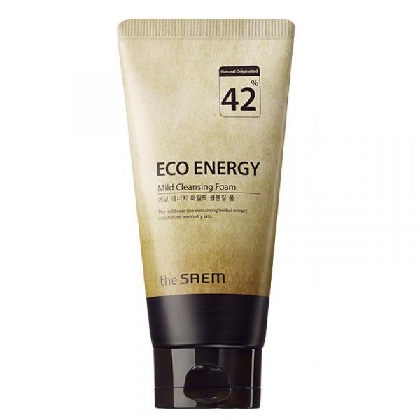 СМ Eco Energy Пенка для умывания мужская ECO ENERGY Mild Cleansing Foam 150гр