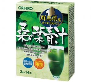 ORIHIRO Зеленый сок из листьев шелковицы № 14