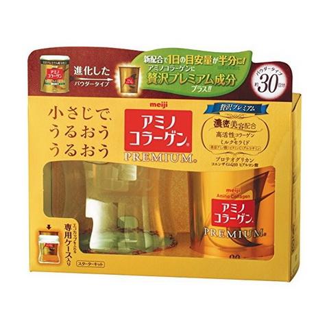 Meiji Amino Collagen Premium высококонцентрированный коллаген с протеогликанами 90 гр на 30 дней