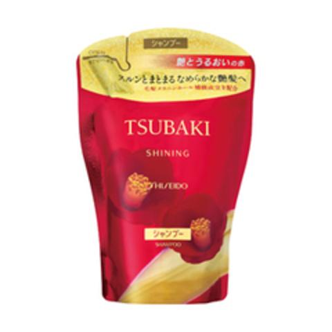 Shiseido Tsubaki Shining Шампунь для придания блеска с маслом камелии 400 мл
