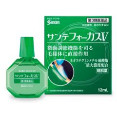 Японские капли для глаз Sante Focus V индекс свежести 3 12 мл
