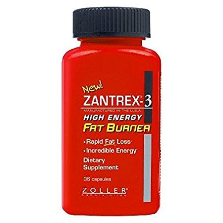 Бад Zantrex-3 High Energy жиросжигатель № 56