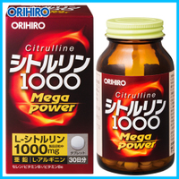 Orihiro Citrulline Mega Power 1000 Цитруллин для мужчин № 240