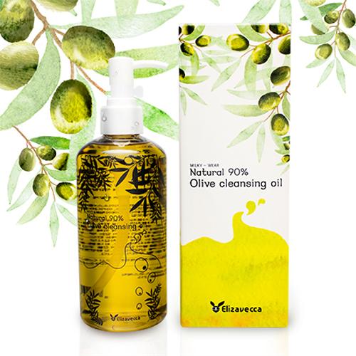 ELIZAVECCA Масло гидрофильное Olive 90% Cleansing Oil 300 мл