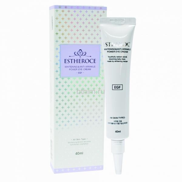 Deoproce Крем для век омолаживающий с EGF 40 мл Estherose Whitening&Anti-Wrinkle Power Eye Cream