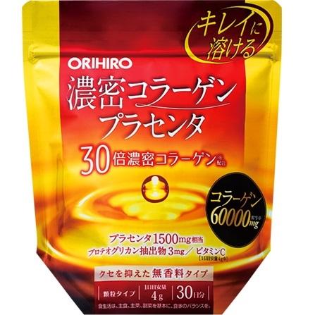 ORIHIRO Плотный коллаген и плацента 120 гр