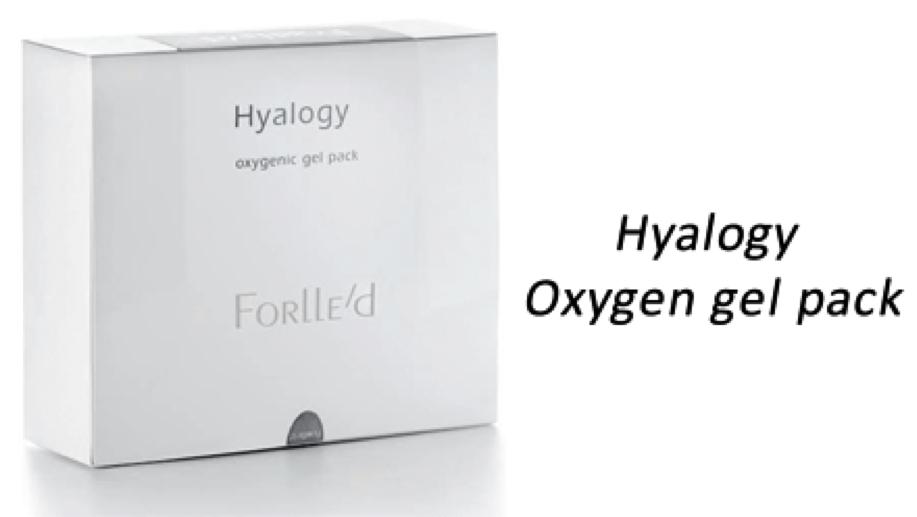 Hyalogy Oxygenic gel pack Кислородная гель-маска 10 шт