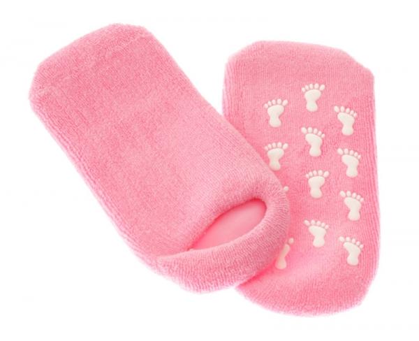 """Силиконовые носки с фитоколлагеном """"SPA"""""""