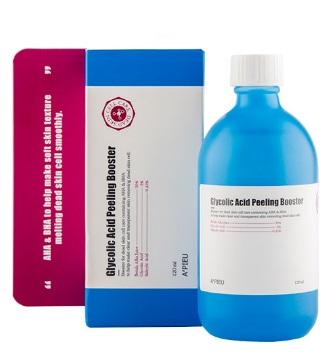 Бустер для лица A`PIEU c AHA и BHA-кислотами и гликолевой кислотой 120 мл
