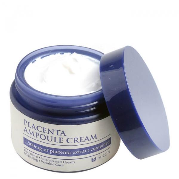 Антивозрастной плацентарный крем для лица MIZON Placenta Ampoule Cream 50 мл