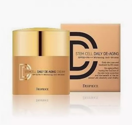 Крем ДД маскирующий DEOPROCE STEM CELL DAILY DE AGING CREAM 21 40 г