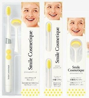 Smile Cosmetique Звуковая зубная щетка, в комплекте щетка для языка