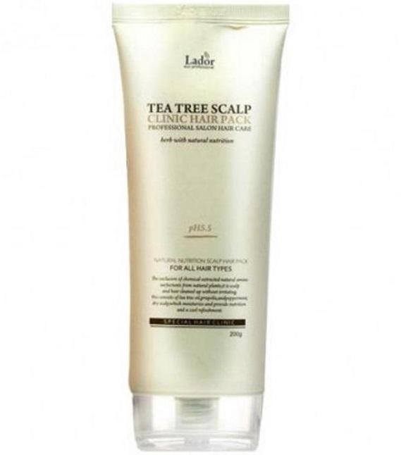 Маска для волос и кожи головы с чайным деревом LADOR Teatree Scalp Hair Pack 200 мл