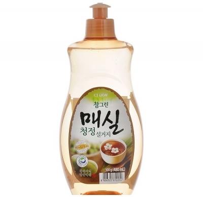 CJ LION Средство для мытья посуды, овощей и фруктов с экстрактом японского абрикоса 500 мл