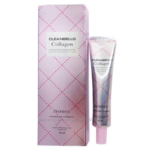 Увлажняющий крем для век с высоким содержанием коллагеном Deoproce Cleanbello Collagen Essential Moisture Eye Cream