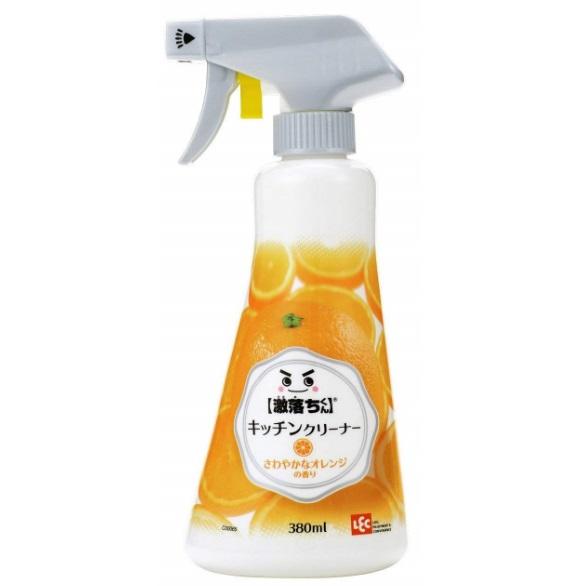 """Моющее средство-спрей для удаления масляных пятен на кухне, с дезинфицирующим эффектом, пенящееся LEC """"Super Fall"""" 380 мл"""