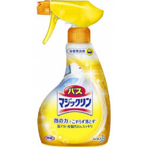 Спрей-пенка KAO Bath Magiclean для ванной с ароматом лимона 400 мл