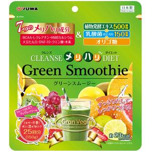 Yuwa Green Smoothie Зеленый смузи с водородом и молочнокислыми бактериями для активного похудения и очищения от шлаков 150 гр