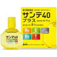 Глазные японские капли Sante 40 Plus с витаминами