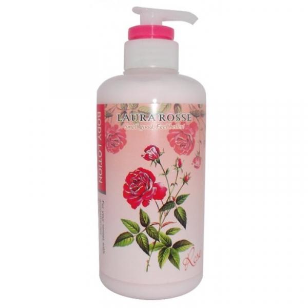 Лосьон-молочко для тела LAURA ROSSE Ароматерапия - Роза 500мл