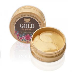 Гидрогелевые патчи для кожи вокруг глаз Gold & Royal Jelle с маточным молочком и золотом № 60