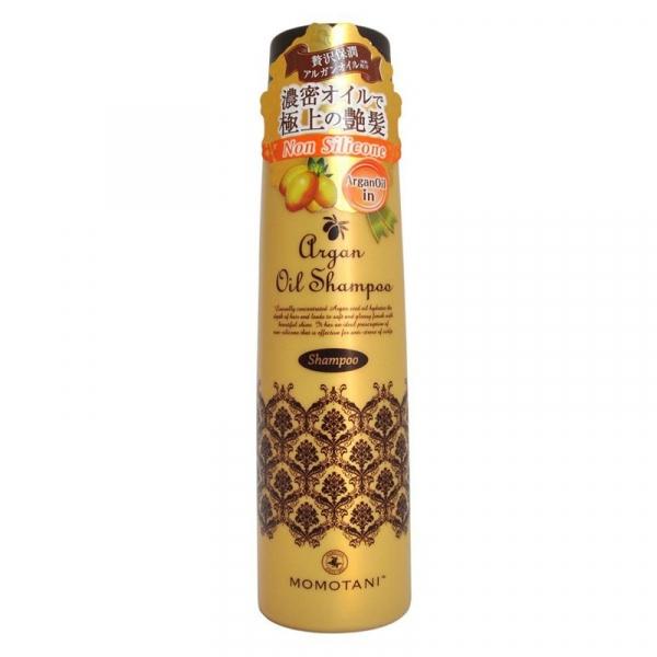 Шампунь для волос с маслом арганы (без силикона) MOMOTANI Organic Argan Shampoo 290мл