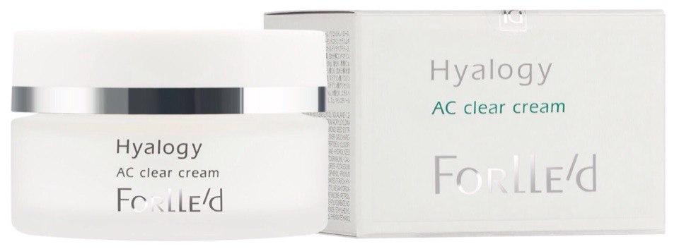 Смягчающий крем для жирной и комбинированной кожи, склонной к воспалениям Hyalogy AC clear cream 50 мл