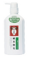 Бальзам для волос с экстрактом рисовых отрубей