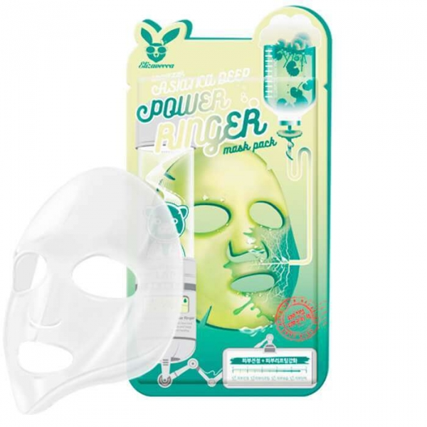 Маска для лица тканевая ELIZAVECCA CENTELLA ASIATICA DEEP POWER RING MASK PACK 23 мл