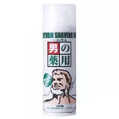 Освежающая пена для бритья с ментолом OMI BROTHER Menturm 200 гр 1/50