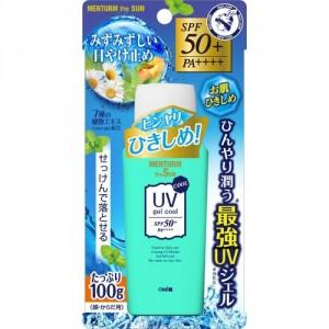Освежающий и увлажняющий солнцезащитный гель для лица и тела с семью растительными экстрактами и ментолом SPF50+ PA++++ OMI BROTHER Menturm the Sun 100 г