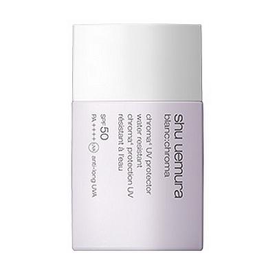 Солнцезащитный крем с легкой водостойкой текстурой Shu Uemura Blanc: chroma UV Protector SPF50 PA ++++ 40 мл