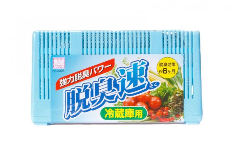 Kokubo Быстродействующий  угольный поглотитель неприятных запахов для холодильника 60 гр