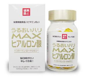 МАХ Комплекс с гиалуроновой кислотой, коллагеном, маточным молочком и Омега 3 № 60