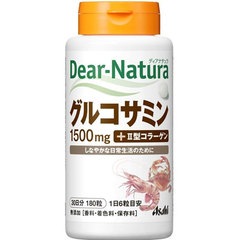 Asahi Dear Natura Глюкозамин с коллагеном 2 типа № 180