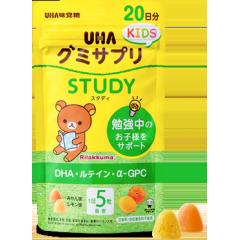 Uha вкусные умные витамины для детей от 2х лет со вкусом мандарина и лимона № 100