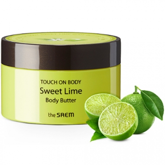 СМ TOUCH ON BODY Крем-масло для тела TOUCH ON BODY Sweet Lime Body Butter  200мл