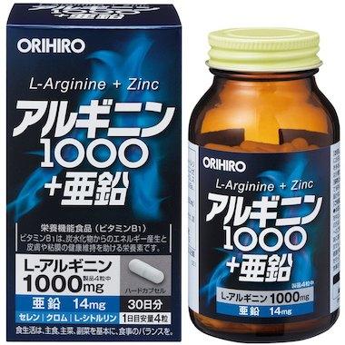 Orihiro Аргинин и цинк № 120