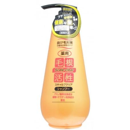 Шампунь для укрепления и роста волос, против перхоти JUNLOVE 500 мл 103586