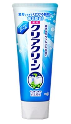 Освежающая лечебно-профилактическая зубная паста KAO Clear Clean Extra Cool ST освежающая  мята 130 гр