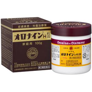 Антибактериальная и дезинфицирующая гидрофильная мазь Oronine H 100г