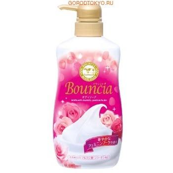 Мыло жидкое для тела Milky Body Soap Bouncia увлажняющее, со сливками и коллагеном цветочный аромат 550 мл